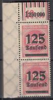 INFLA DR 291 A W OR,  2'9'2/1'5'1, Postfrisch **, Überdruckausgabe, 1923 - Infla