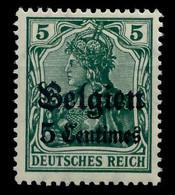 BES 1WK LP BELGIEN Nr 2 Ungebraucht X7797C2 - Ocupación 1914 – 18