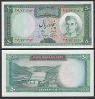 PERSIEN - PERSIA - IRAN 50 RIALS (1971) Pick 90 Sig.13 UNC (1) Shah Reza  (26538 - Andere - Azië