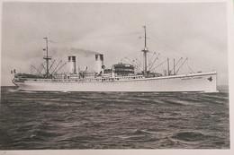 Cartolina Società Di Navigazione - Nave Ospedale Principessa Giovanna - 1935 Ca. - Altri