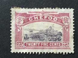 ◆◆◆CHINA 1896 LOCAL CHEFOO,   25C   AB8067 - Unused Stamps