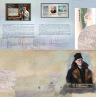 Russia 2021 NO EXTRA FEES Souvenir Packs SP1031 Grabar Painter Art 150th Anniversary - Ungebraucht