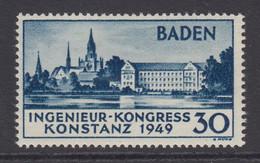 Baden (Germany), Scott 5N41, MHR - Baden