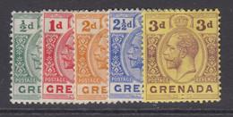 Grenada, Scott 79-83 (SG 89/96), MHR - Grenade (...-1974)