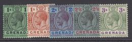 Grenada, Scott 106-110 (SG 128-132), MLH/HR - Grenade (...-1974)