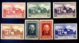 ESPAGNE 1930 - LUXE Expo SEVILLA Decouverte/ Discovery America C.COLOMB/ COLUMBUS / COLON / COLOMBO,Rabida - Ongebruikt