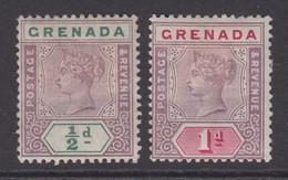 Grenada, Scott 39-40 (SG 48-49), MHR - Grenade (...-1974)