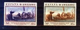 ESPAGNE 1930 - LUXE Expo SEVILLA Decouverte/ Discovery America C.COLOMB/ COLUMBUS / COLON / COLOMBO - Ongebruikt