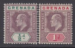 Grenada, Scott 48-49 (SG 57-58), MLH - Grenade (...-1974)