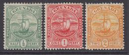 Grenada, Scott 68-70 (SG 77-79), MLH/HR - Grenade (...-1974)