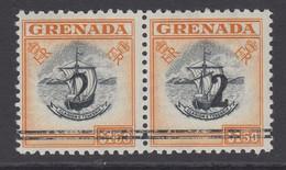 Grenada, Barefoot 40a (SG 204 Footnote), MNH Se-tenant Pair - Grenade (...-1974)