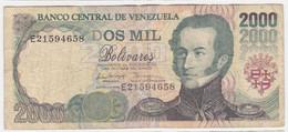 Venezuela P 77 C - 2000 Bolivares 6.8.1998 - Fine - Venezuela