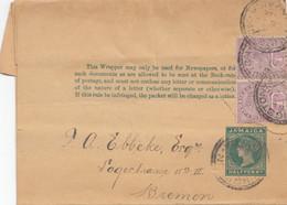 Jamaica: Kingston Wrapper To Bermen/Germany - Jamaica (1962-...)