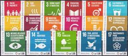 UNO GENF 2016 Mi-Nr. 973/89 Einzelmarken ** MNH - Ungebraucht