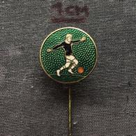 Badge Pin ZN006631 - UFO Football (Soccer Calcio) - Calcio