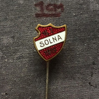 Badge Pin ZN007272 - UFO Sport Football ? Sweden SOLNA 13.7.1919. - Calcio