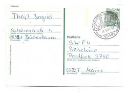 DBG098 / BRD - Zeche Dortmund Mit Orts- Werbestempel Heidelberg - Cartoline - Usati
