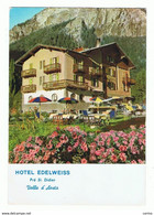 "PRE'  ST. DIDIER (AO):  HOTEL  RISTORANTE  BAR  "" EDELWEISS ""  -  STRAPPETTO  IN  ALTO  -  PER  IL  LIECHTENSTEIN  -  FG - Hotels & Restaurants"