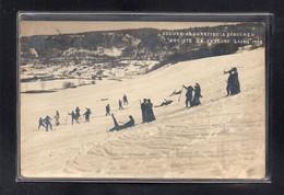 (14/09/21) 39-CPA ARSURE ARSURETTE - LA BAROCHE - SOCIETE DE SKIEURS - 2 AVRIL 1908 - Andere Gemeenten