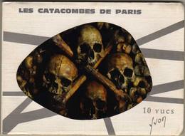 PARIS   LES CATACOMBES DE PARIS 10 VUES - Other