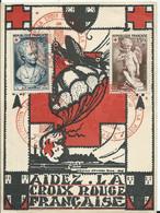 CARTE MAXIMUM CROIX ROUGE - 1951 - 1950-59