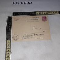 FB10190 REPUBBLICA ITALIANA CAMPOBASSO 1971 TIMBRO ANNULLO SAGRA DEI MESTIERI - 1971-80: Storia Postale