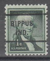USA Precancel Vorausentwertungen Preos, Locals Indiana, Bippus 712 - Vorausentwertungen