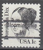 USA Precancel Vorausentwertungen Preos, Locals Indiana, Bloomingdale 843 - Vorausentwertungen