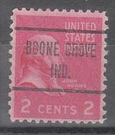 USA Precancel Vorausentwertungen Preos, Locals Indiana, Boone Grove 723 - Vorausentwertungen