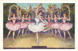 """Illustrateur Un Ballet RV Collection Du Talon """" LE GAULOIS  """" Etablissements BERGOUGNAN  Clermont Ferrand - Baile"""