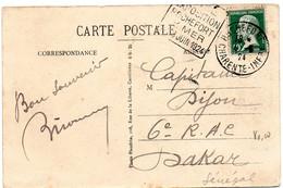 CHARENTE Mme - Dépt N° 17 = ROCHEFORT 1924 = FLAMME DAGUIN 'FOIRE EXPOSITION' COTE DREYFUSS = 100 Euro - Mechanical Postmarks (Advertisement)