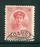 LUXEMBOURG- Y&T N°136- Oblitéré - 1921-27 Charlotte Voorzijde