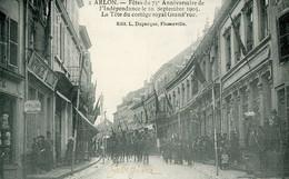 ARLON - 75° Anniv Indépendance - Cortège Royal Grand Rue - Arlon