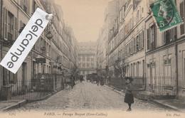 """PARIS 7éme : Passage Bosquet (Gros Caillou),Bains-Douches """"Bosquet"""",animée. - Arrondissement: 07"""
