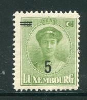 LUXEMBOURG- Y&T N°159- Neuf Avec Charnière * - 1921-27 Charlotte Voorzijde