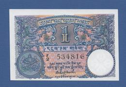 BHUTAN - Royal Government Of Bhutan - P.1 – 1 Ngultrum ND (1974) UNC Serie F2 534816 - Bhutan