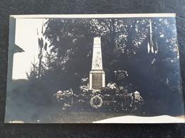 Annecy 74 Haute-Savoie Carte Photo Monument Aux Morts De Cran Gevrier - Annecy