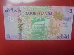 COOK 3$ 1992 Peu Circuler/Neuf - Cook Islands