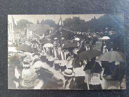 Annecy 74 Haute-Savoie Carte Photo Pariot Fêtes Translation 1911 - Annecy