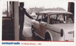 VIACARD AUTOSTRADE A1 MILANO-BRESCIA 1961 - Other