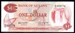 329-Guyana 1$ 1989 B28 Sig.7 - Haiti