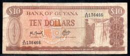 329-Guyana 10$ 1992 A23 Sig.9 - Haiti