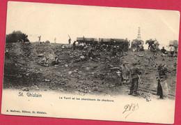 C.P. Saint-Ghislain  = Le  TERRIL Et Les  Chercheurs  De  Charbons - Saint-Ghislain