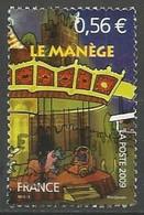 FRANCE N° 4381 OBLITERE CACHET ROND - Gebruikt