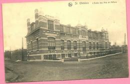 C.P. Saint-Ghislain  = L'  Ecole  Des Arts  Et  Métiers - Saint-Ghislain