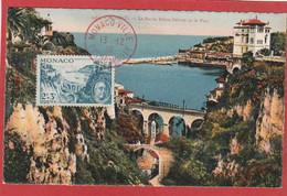 Monaco - Carte Maximum - Roosevelt N°299 (YT) 1946 Monaco Ville - Maximum Cards