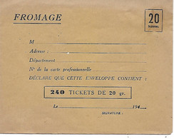 Enveloppe Solidarité - Guerre 1940-45 - Kriegsausgaben