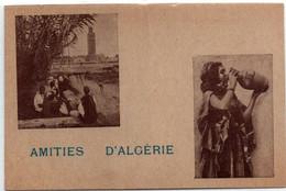 Amitiés D'Algérie - CPFM Des éditions Photos Africaines EPA - Scna Recto & Verso - Franchise Militaire - FM-Karten (Militärpost)