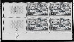 Maroc N°385 - Bloc De 4 Coin Daté - Neuf ** Sans Charnière - TB - Marocco (1956-...)