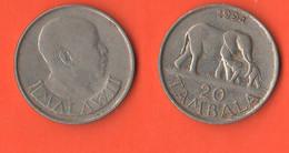 Malawi 20 Tambala 1994 Nickel Coin - Malawi